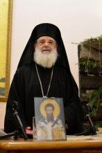 Архимандрит Мефодий (Алексиу) в Покровском соборе Гродно