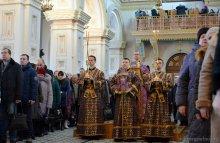 Свято-Покровский кафедральный собор Гродно, Литругия
