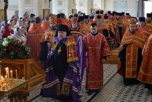 Архиепископ Артемий возглавил Пасхальную вечерню в кафедральном соборе Гродно