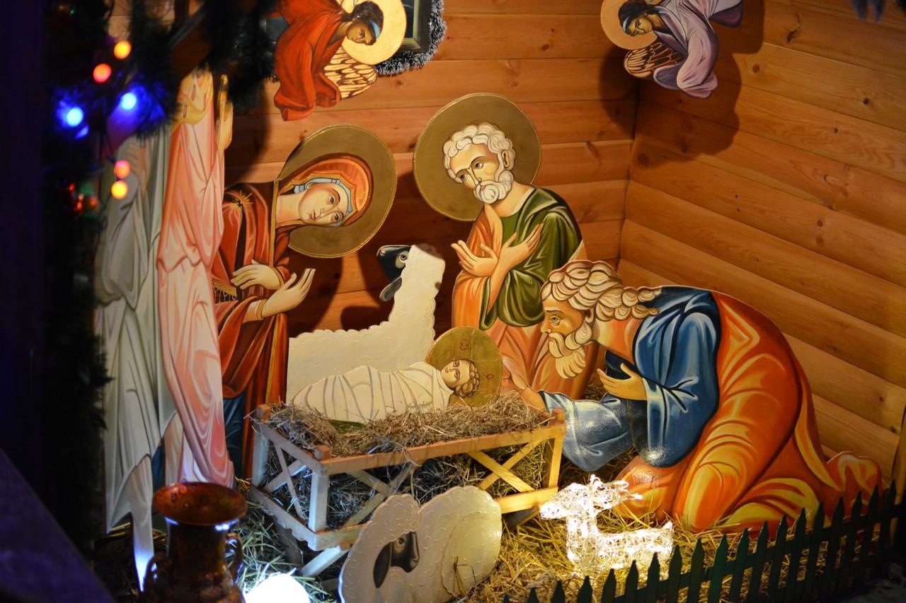 Смешные смерть, картинки с рождественским вертепом
