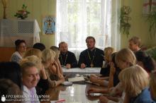 6 сентября 2015 года. Состоялся педагогический совет воскресной школы при Свято-Покровском кафедральном соборе