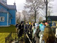 Слушатели первого года катехизаторских курсов при Свято-Покровском соборе совершили первое совместное паломничество в Лавришевс