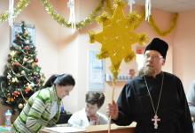 Коледование воскресная школа начала с Гродненской областной детской клинической больницы