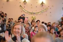 Рождественский утренник воскресной школы Покровского собора 10.01.2016