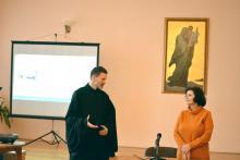 Детский психолог Анна Ивановна Янчий встретилась с участниками родительского клуба