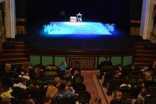 Воскресная школа Свято-Покровского собора посетила представление кукольного театра