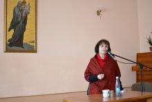Детский психолог Анна Ивановна Янчий вновь встретилась с участниками родительского клуба