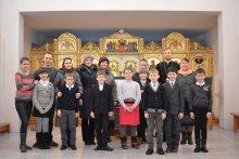Воспитанники воскресной школы приступили к съемкам исторической программы о соборе