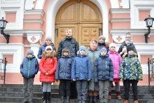 """""""Историческое"""" видео воспитанников воскресной школы"""