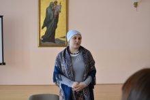 Гостем родительского клуба была многодетная мама и врач-педиатр Наталья Железная