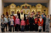 Первая исповедь воспитанников воскресной школы Покровского собора