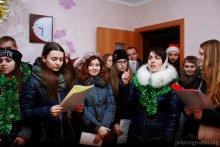 """Колядки 2017 """"молодёжки"""" Покровского собора"""