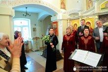 Архиерейский хор кафедрального собора города Гродно выступил в храме святителя Луки