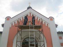 Свято-Ольгинский храм, строительство
