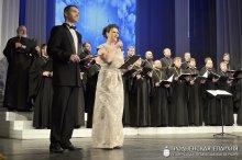 Состоялось открытие XVII Международного фестиваля православных песнопений «Коложский Благовест»