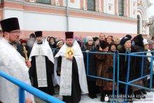 В день Крещения Господня архиепископ Артемий совершил литургию в кафедральном соборе города Гродно