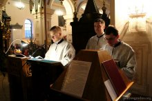 Свято-Покровский кафедральный собор Гродно, чтецы