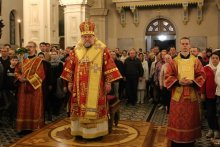 [Фоторепортаж]: Пасхальные торжества в кафедральном соборе Гродно