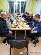 Благотворительный ужин для посетителей Гродненского городского дома ночного пребывания